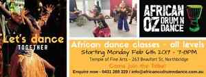 African dance classes for all levels Perth Northbridge Perth City Area Preview