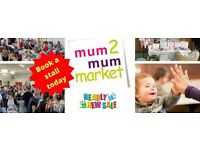 Mum2Mum Market - Stevenage - Nearly New Sale