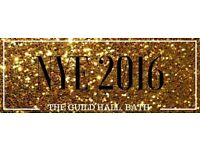 NYE 2016 The Guild Hall, Bath