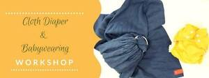 Cloth DIaper & Babywearing Workshop SUN JAN 29