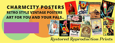 Charm City Posters