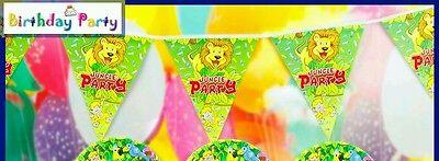 jungle animals birthday banner , birthday party banner , animals theme