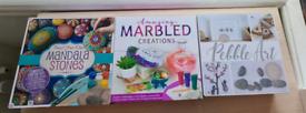 3 x brand new craft kits