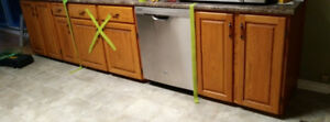 Oak Cabinets ***Great Condition***