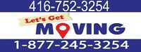 ☻☻☻(416)752-3254  MOVING.COMPANY AT YOUR SERVICE - (416)752-325