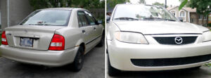 2001 Mazda Protege (manual) – negociable