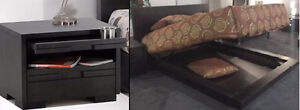 Maison Corbeil Huppe Tables Nuit + Lit Queen Bed + Night-Tables