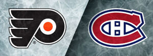 CANADIENS VS FLYERS ROUGE-BLANC SAMEDI LE 19 JANV.
