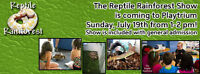 Reptile Rainforest is coming to the PLAYTRIUM !