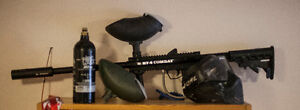 Paintball Gun Package - BT4 Combat (USED)