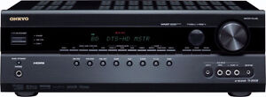 Onkyo TX-SR508 7.1 Channel 3-D Ready Home Theater Receiver