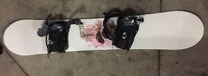 155cm Morrow Snowboard with bindings