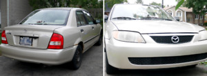 2001 Mazda Protege (manual) - negociable