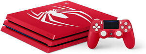 PlayStation 4 Pro 1TB Limited Edition Console - Marvel's Spider-