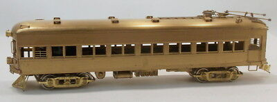 "HO BRASS GHB/KMT TEXAS ELECTRIC RAILWAY ""DALLAS EXPRESS POWERED COMBINE #307"""
