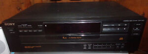 RP2261 Sony Model CDP-C365 Compact Multi 5 Disc Player Carousel