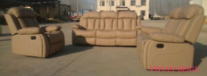 FACTORY DIRECT RECLINER SOFA SET