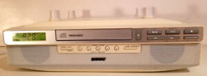 SONY ICF-CD523 Under-Cabinet CD Clock Radio RARE EUC!!