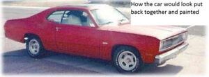 1972 DUSTER PROJECT CAR