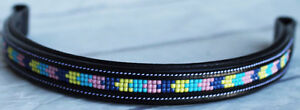 BROWBAND Bling Crystal English Bridle Horse Leather