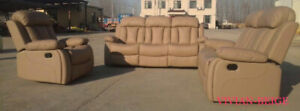 END OF WINTER SALE :BEST PRICES:RECLINER SETS