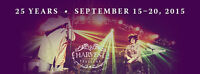 Harvest Jazz & Blues ULTIMATE PACKAGE and 5 NIGHT STAY!