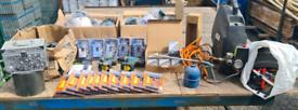 Job lot car boot tools locks bird feeders makita air compressor