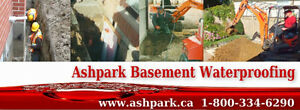 Wet Leaky Basement |1-800-334-6290 | Basement Epoxy Crack Repair Peterborough Peterborough Area image 1