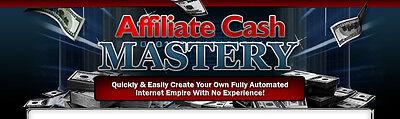 Affiliate Cash Mastery- eBook, Videos and Bonuses on 1 CD
