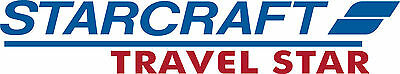 Starcraft Travel star Decals  RV sticker decal graphics trailer camper rv