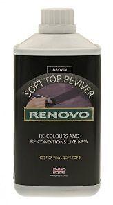 Renovo Fabric Soft Top Reviver Brown 500ML - RHRBRO5001125