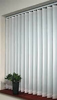 New white fabric vertical blinds (New price)