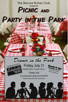 Picnic & Party In The Park Simcoe