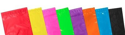 25 Premium Plastic Pink 6.5 x 9 Inch Mailing Mail Self Seal Postal Bags 161x230