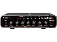 TC Electronic RH450 Lightweight Bass Head