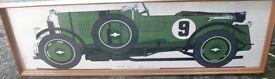 "1929 Bentley Print ""Very Long 1.355 metres"""