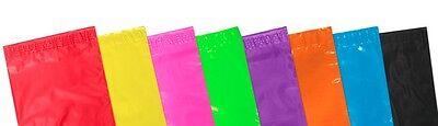 50 Premium 60mu Plastic Pink 6.5 x 9 Mailing Mail Self Seal Postal Bags 161x230