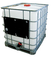250 gallon water cube tote container 1000 litre tank