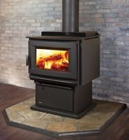 Long burning wood stoves