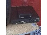 DVD disc player and digital receiver for old tellies