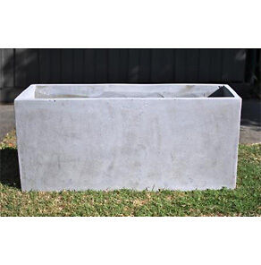 Garden Pots: 6 x 1mt Light Weight Concrete Planter boxes - RRP $189.95 ea
