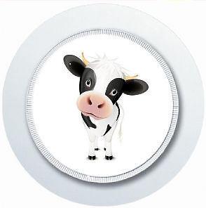 CUTE NOVELTY COW CAR TAX DISC HOLDER REUSABLE