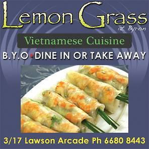 Lemongrass Takeaway & Restaurant for sale urgent Byron Bay Byron Area Preview