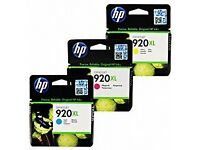 10 GENUINE HP OFFICEJET 920XL INKJET INK CARTRIDGES