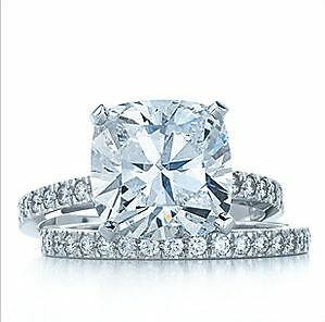 Tiffany Novo Engagement Ring with matching wedding band Newtown Inner ...