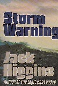 "1st edition book ""storm warning"" by Jack Higgins"
