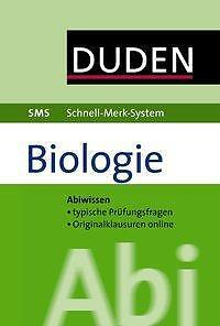 Probst, W: SMS Abi Biologie von Wilfried Probst (2012, Klappenbroschur)