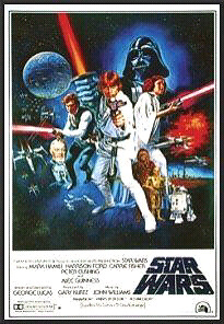 "STAR WARS  Professionally Framed POSTER 27"" X 40"" BRAND NEW"