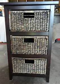Drawers Storage - Cane/Wood & Cane & Metal Glenorchy Glenorchy Area Preview