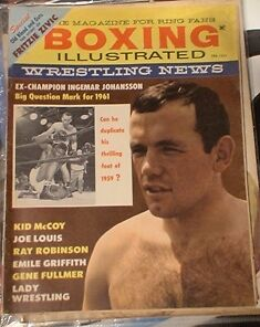 BOXING MAGAZINE. RING MAGS ETC.1950'S TO 80'S Belleville Belleville Area image 5